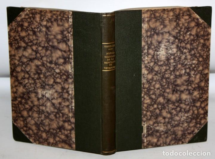Libros antiguos: NOTICIA HISTORICA DE LA REPUBLICA DE VENEZUELA-1873. - Foto 5 - 154208082