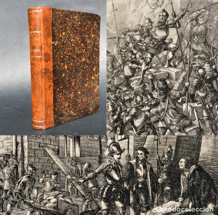 1853 GONZALO DE CORDOBA - GUERRA DE GRANADA - LAMINAS (Alte, seltene und kuriose Bücher (bis 1936) - Geschichte - Moderne Geschichte)