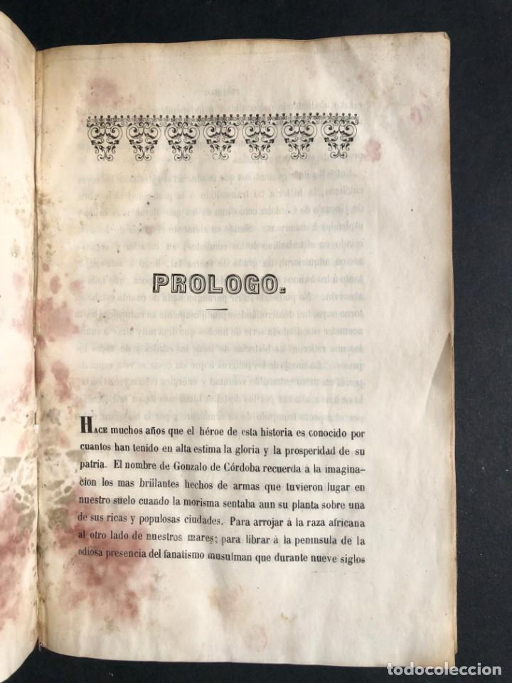 Alte Bücher: 1853 GONZALO DE CORDOBA - GUERRA DE GRANADA - LAMINAS - Foto 4 - 154586942