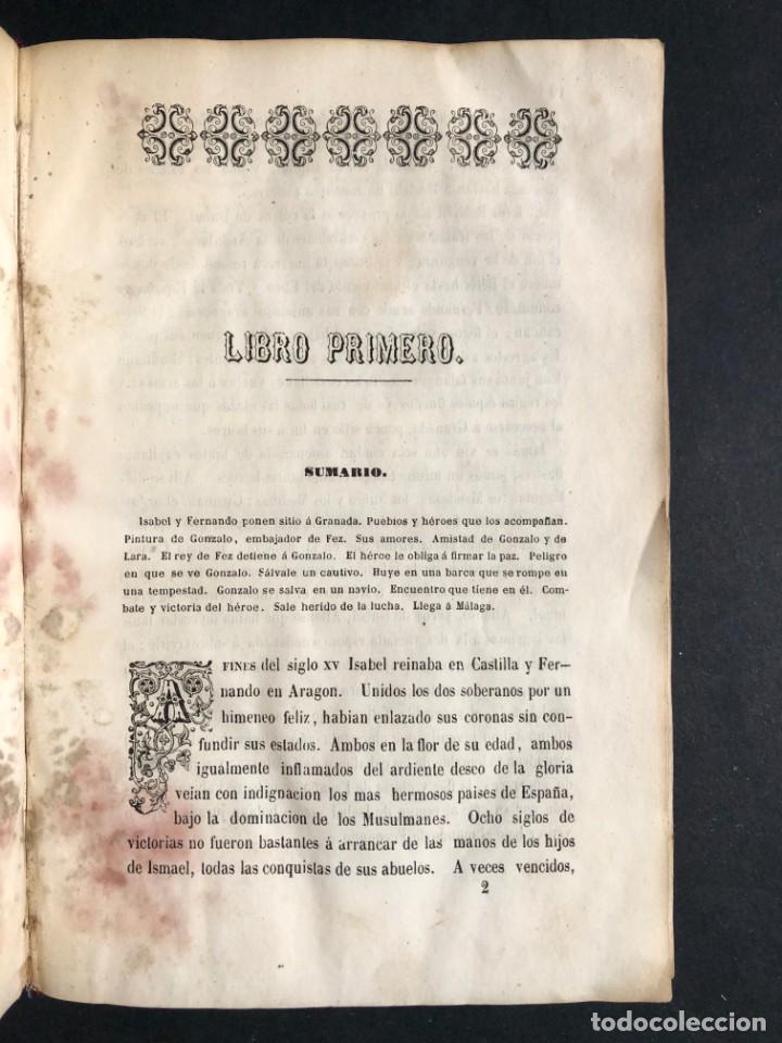 Alte Bücher: 1853 GONZALO DE CORDOBA - GUERRA DE GRANADA - LAMINAS - Foto 5 - 154586942