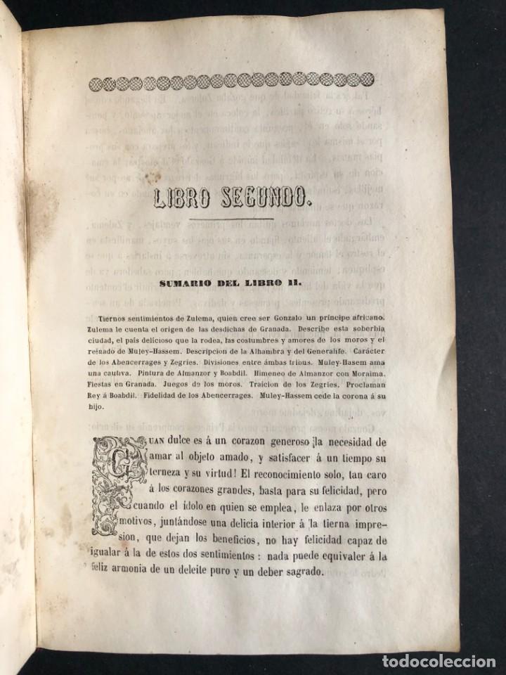 Alte Bücher: 1853 GONZALO DE CORDOBA - GUERRA DE GRANADA - LAMINAS - Foto 7 - 154586942