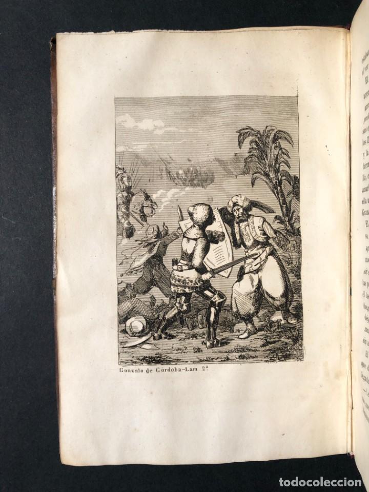 Alte Bücher: 1853 GONZALO DE CORDOBA - GUERRA DE GRANADA - LAMINAS - Foto 8 - 154586942
