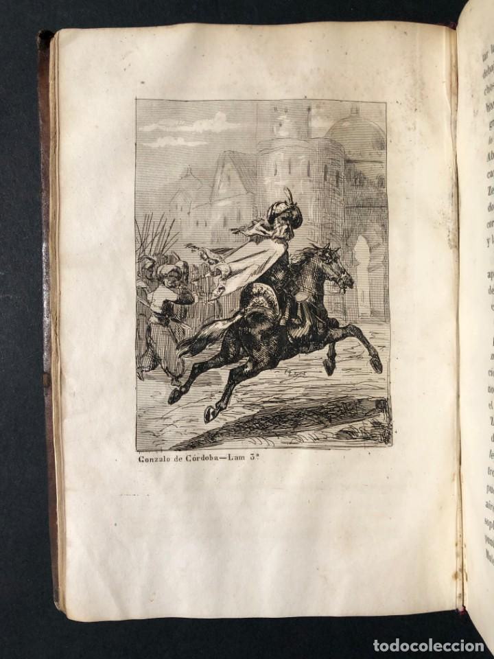 Alte Bücher: 1853 GONZALO DE CORDOBA - GUERRA DE GRANADA - LAMINAS - Foto 9 - 154586942