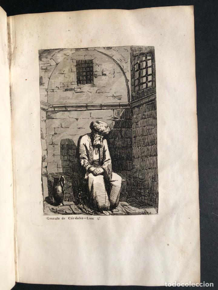Alte Bücher: 1853 GONZALO DE CORDOBA - GUERRA DE GRANADA - LAMINAS - Foto 10 - 154586942