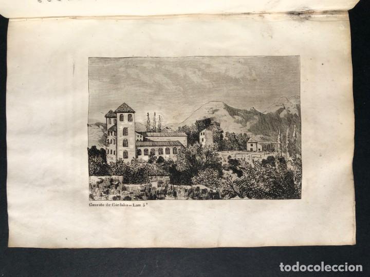 Alte Bücher: 1853 GONZALO DE CORDOBA - GUERRA DE GRANADA - LAMINAS - Foto 11 - 154586942