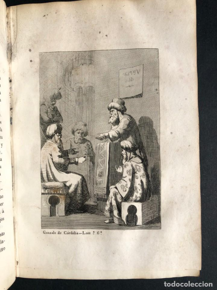 Alte Bücher: 1853 GONZALO DE CORDOBA - GUERRA DE GRANADA - LAMINAS - Foto 13 - 154586942