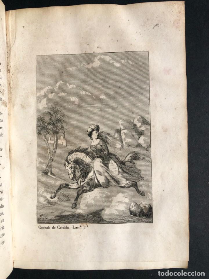 Alte Bücher: 1853 GONZALO DE CORDOBA - GUERRA DE GRANADA - LAMINAS - Foto 14 - 154586942