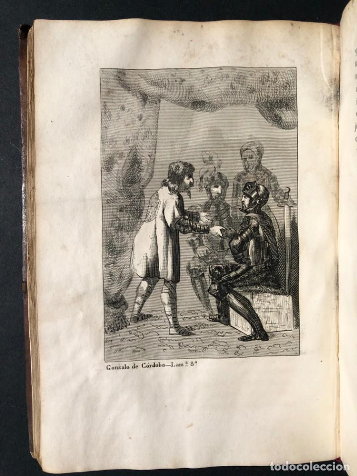 Alte Bücher: 1853 GONZALO DE CORDOBA - GUERRA DE GRANADA - LAMINAS - Foto 15 - 154586942