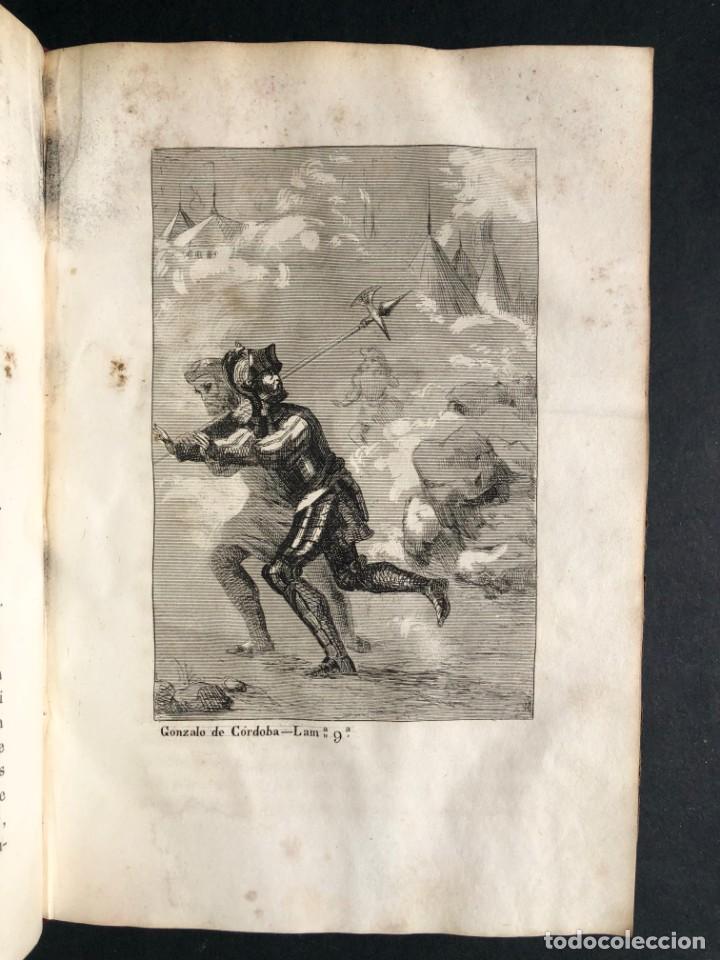 Alte Bücher: 1853 GONZALO DE CORDOBA - GUERRA DE GRANADA - LAMINAS - Foto 16 - 154586942