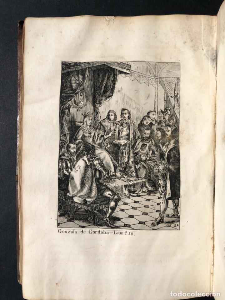 Alte Bücher: 1853 GONZALO DE CORDOBA - GUERRA DE GRANADA - LAMINAS - Foto 18 - 154586942
