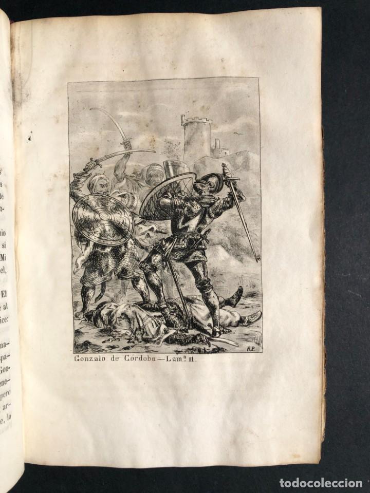 Alte Bücher: 1853 GONZALO DE CORDOBA - GUERRA DE GRANADA - LAMINAS - Foto 19 - 154586942