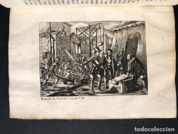 Alte Bücher: 1853 GONZALO DE CORDOBA - GUERRA DE GRANADA - LAMINAS - Foto 20 - 154586942