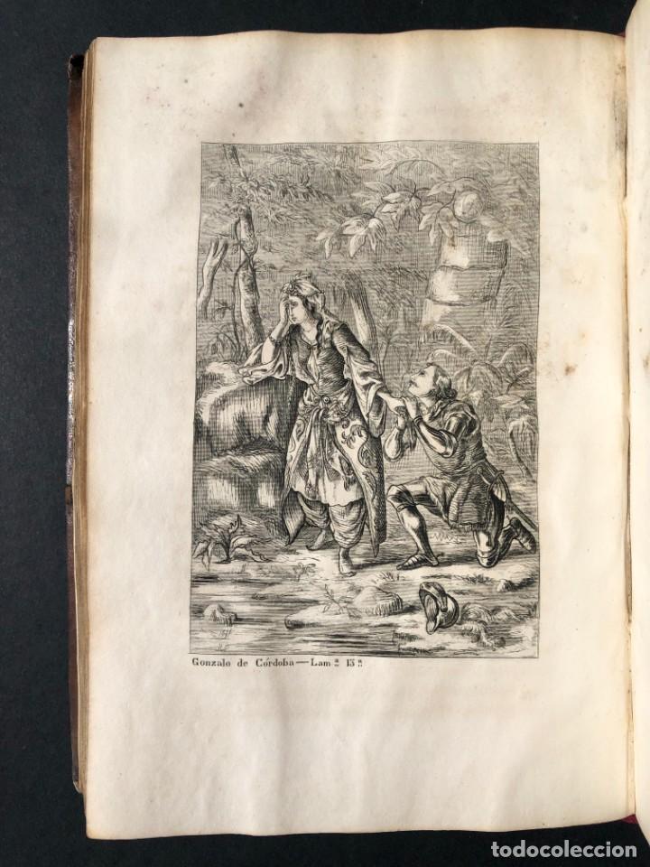 Alte Bücher: 1853 GONZALO DE CORDOBA - GUERRA DE GRANADA - LAMINAS - Foto 23 - 154586942