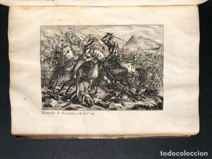 Alte Bücher: 1853 GONZALO DE CORDOBA - GUERRA DE GRANADA - LAMINAS - Foto 24 - 154586942