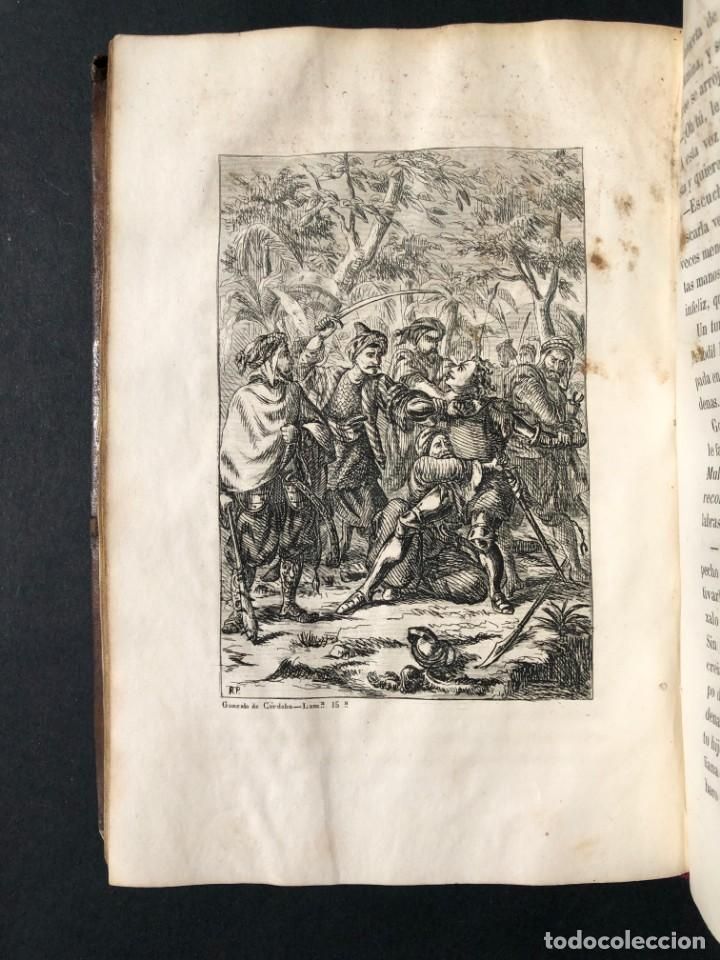 Alte Bücher: 1853 GONZALO DE CORDOBA - GUERRA DE GRANADA - LAMINAS - Foto 25 - 154586942