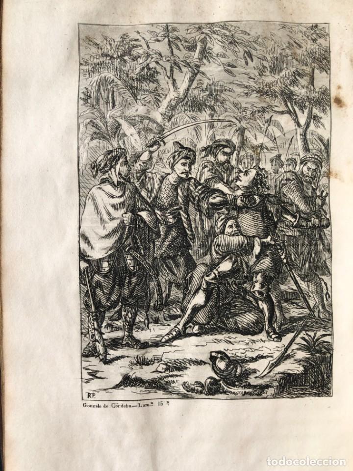Alte Bücher: 1853 GONZALO DE CORDOBA - GUERRA DE GRANADA - LAMINAS - Foto 26 - 154586942