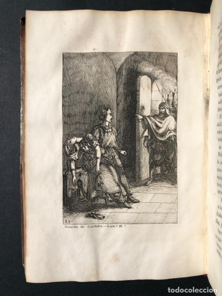 Alte Bücher: 1853 GONZALO DE CORDOBA - GUERRA DE GRANADA - LAMINAS - Foto 27 - 154586942