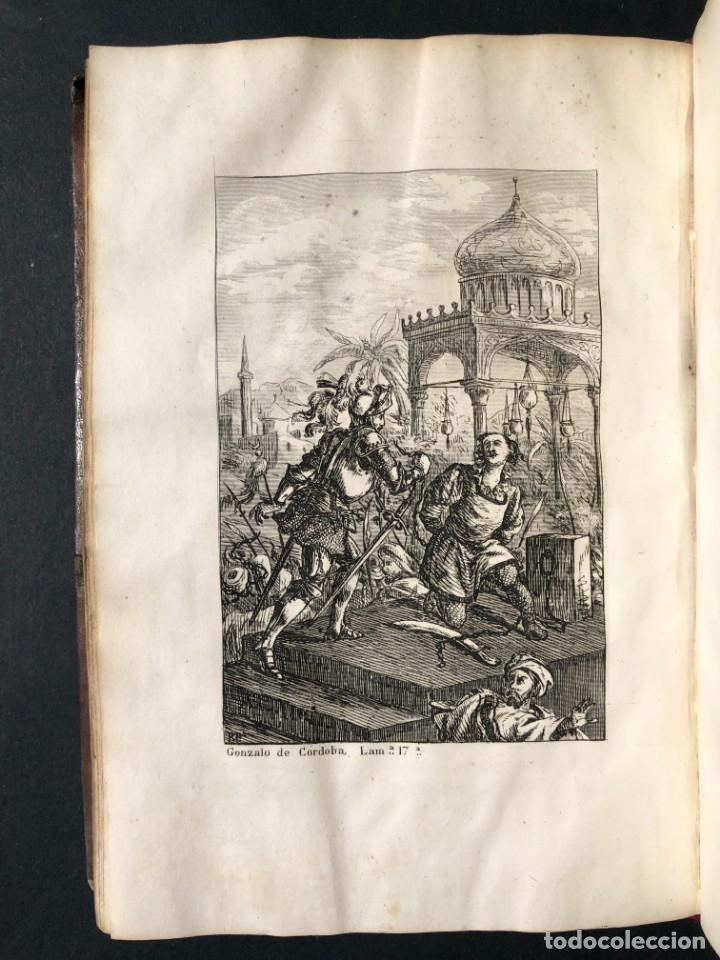 Alte Bücher: 1853 GONZALO DE CORDOBA - GUERRA DE GRANADA - LAMINAS - Foto 28 - 154586942