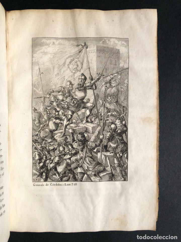 Alte Bücher: 1853 GONZALO DE CORDOBA - GUERRA DE GRANADA - LAMINAS - Foto 29 - 154586942