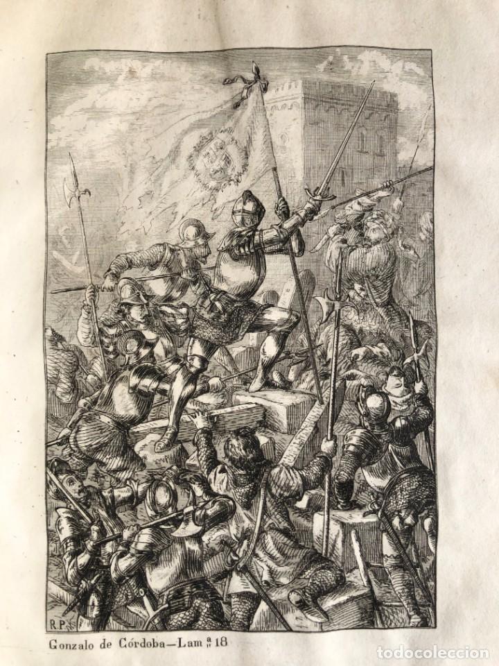 Alte Bücher: 1853 GONZALO DE CORDOBA - GUERRA DE GRANADA - LAMINAS - Foto 31 - 154586942