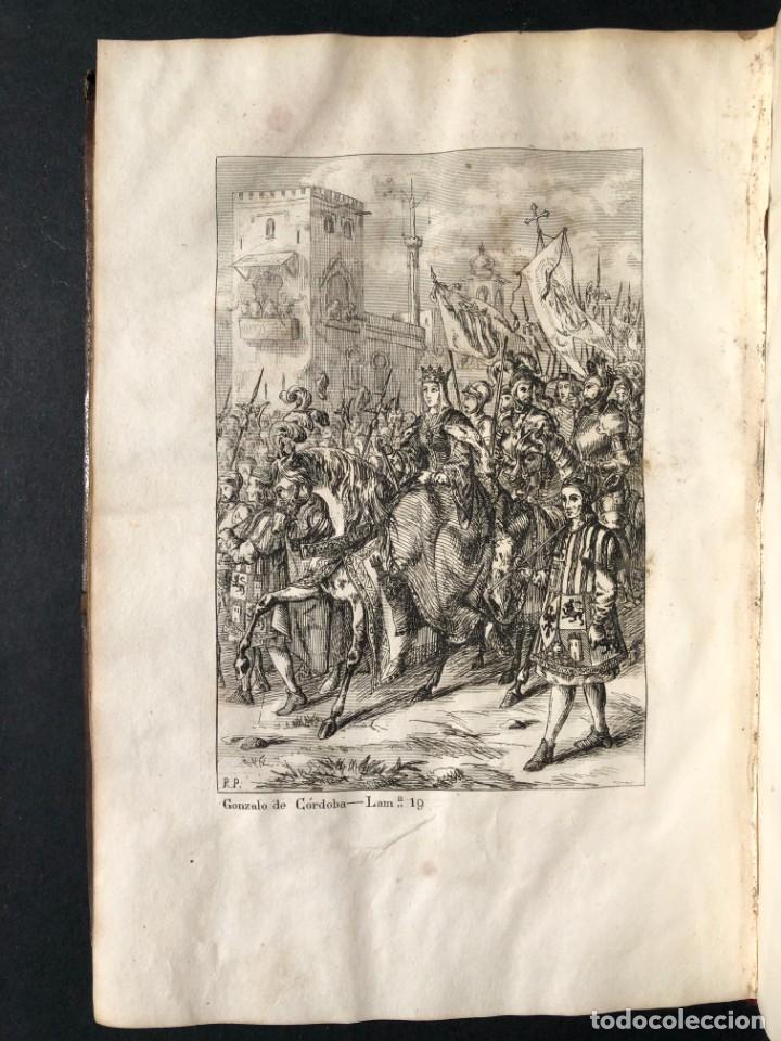 Alte Bücher: 1853 GONZALO DE CORDOBA - GUERRA DE GRANADA - LAMINAS - Foto 32 - 154586942