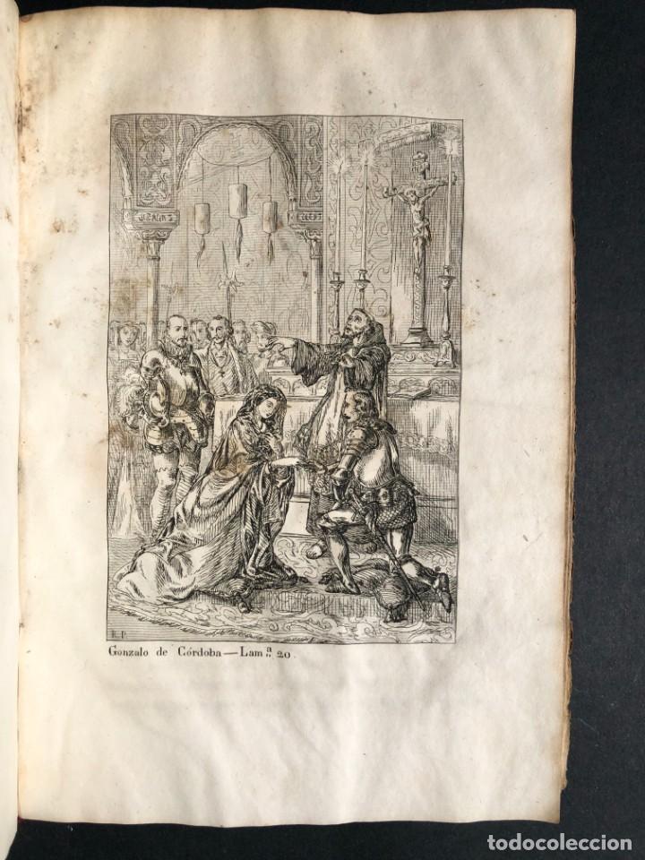 Alte Bücher: 1853 GONZALO DE CORDOBA - GUERRA DE GRANADA - LAMINAS - Foto 34 - 154586942