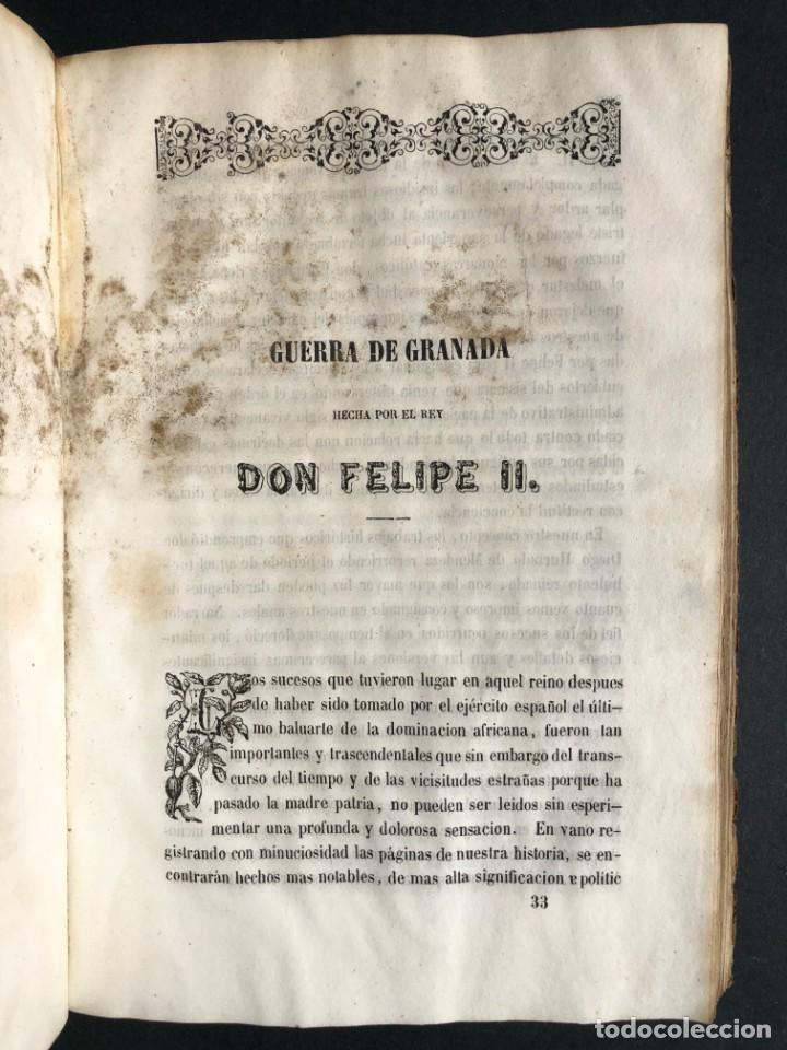 Alte Bücher: 1853 GONZALO DE CORDOBA - GUERRA DE GRANADA - LAMINAS - Foto 35 - 154586942