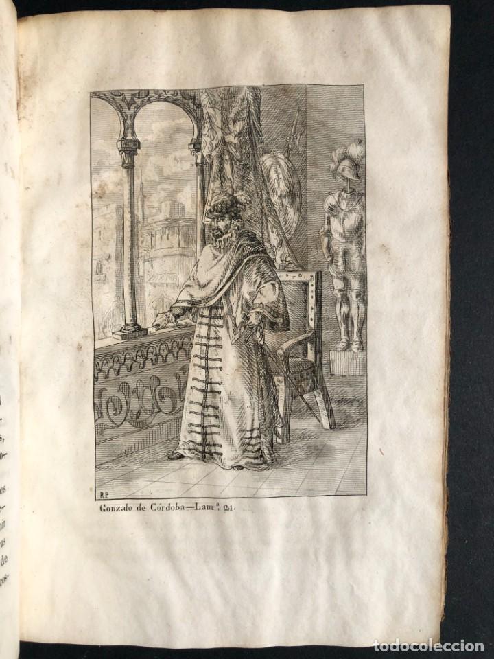 Alte Bücher: 1853 GONZALO DE CORDOBA - GUERRA DE GRANADA - LAMINAS - Foto 36 - 154586942