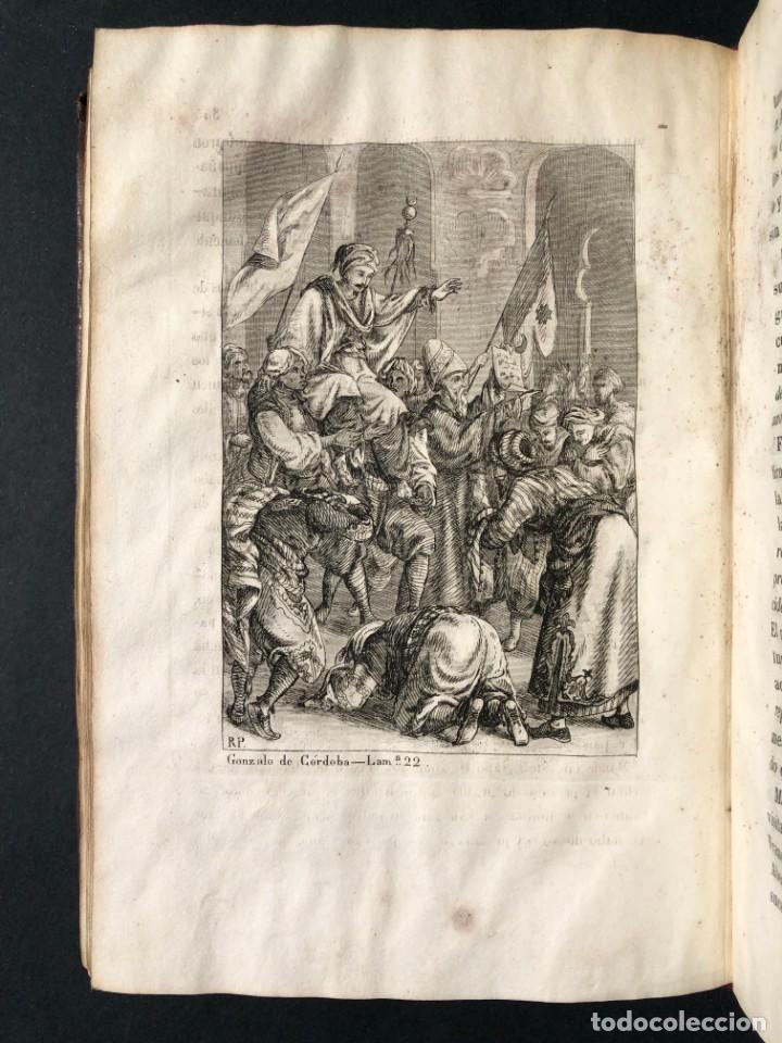 Alte Bücher: 1853 GONZALO DE CORDOBA - GUERRA DE GRANADA - LAMINAS - Foto 37 - 154586942