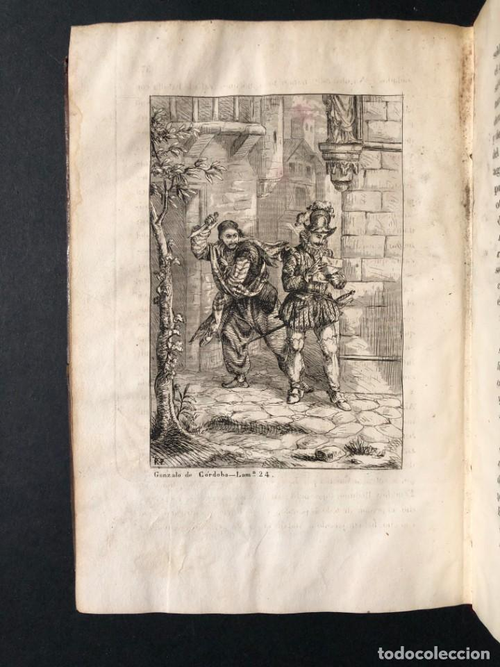 Alte Bücher: 1853 GONZALO DE CORDOBA - GUERRA DE GRANADA - LAMINAS - Foto 39 - 154586942