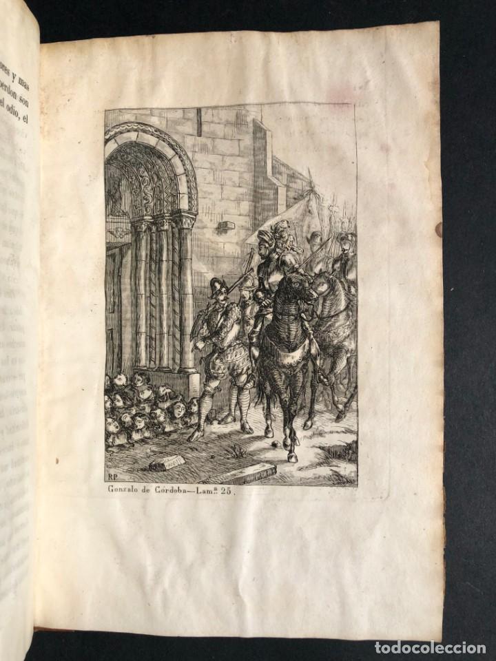 Alte Bücher: 1853 GONZALO DE CORDOBA - GUERRA DE GRANADA - LAMINAS - Foto 40 - 154586942