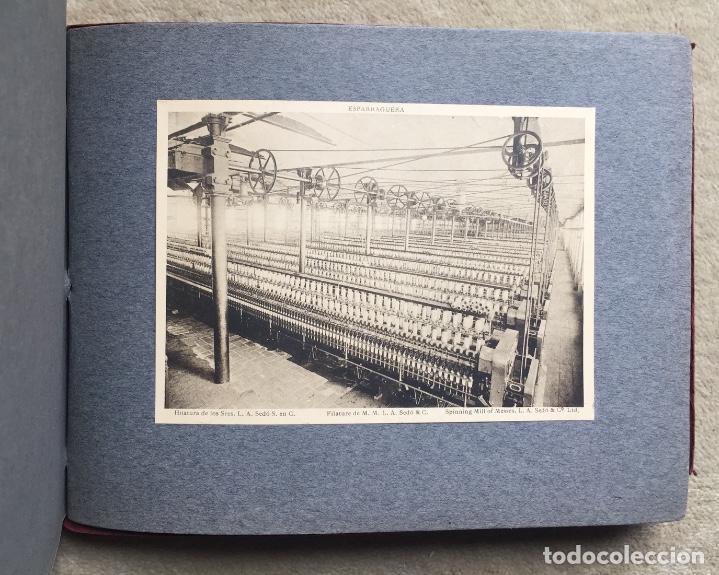 Libros antiguos: Álbum VIII Congreso Algodonero - Barcelona Año 1911 - COMPLETO - Foto 5 - 154804822