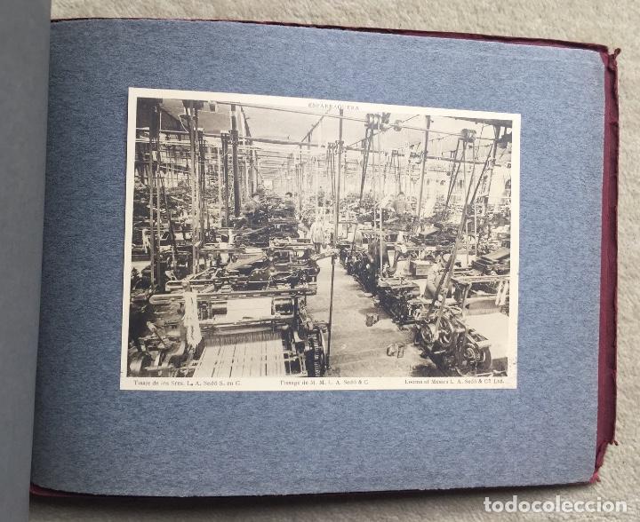 Libros antiguos: Álbum VIII Congreso Algodonero - Barcelona Año 1911 - COMPLETO - Foto 6 - 154804822