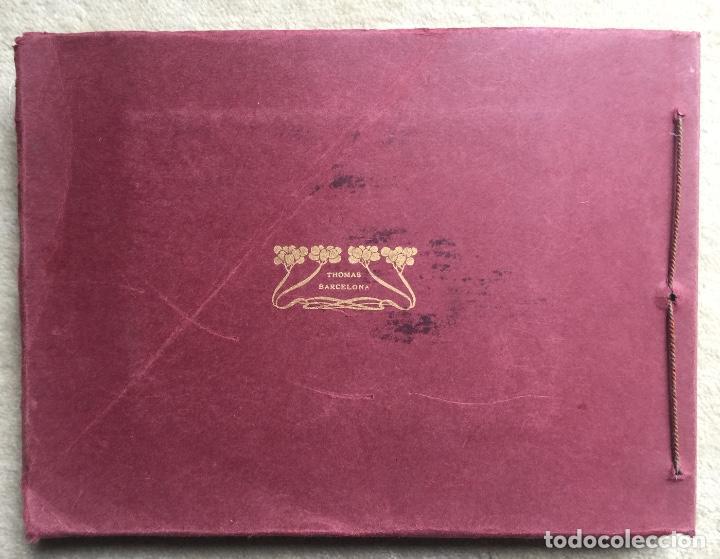 Libros antiguos: Álbum VIII Congreso Algodonero - Barcelona Año 1911 - COMPLETO - Foto 7 - 154804822