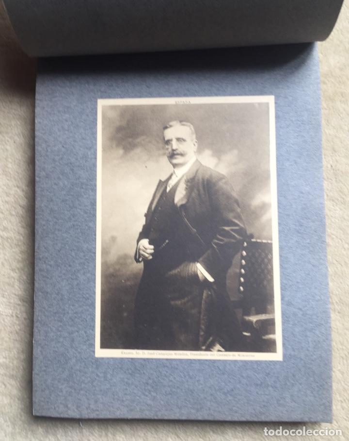 Libros antiguos: Álbum VIII Congreso Algodonero - Barcelona Año 1911 - COMPLETO - Foto 9 - 154804822