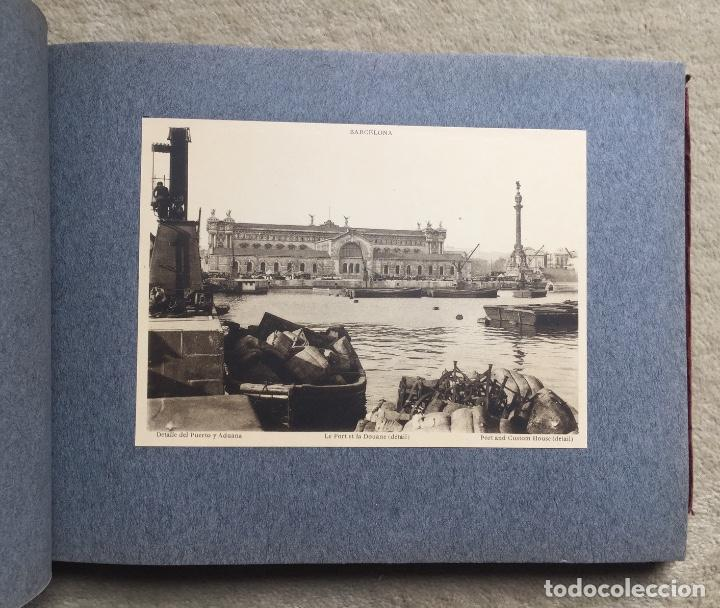 Libros antiguos: Álbum VIII Congreso Algodonero - Barcelona Año 1911 - COMPLETO - Foto 12 - 154804822