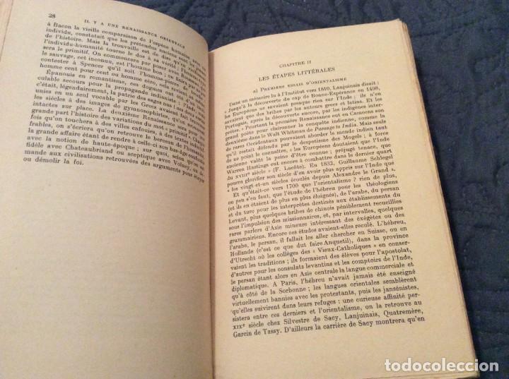 Libros antiguos: El Renacimiento oriental por Raymond Schwab Publicado por Payot, 1950. 1.ª Edición. Muy escaso - Foto 3 - 154820998
