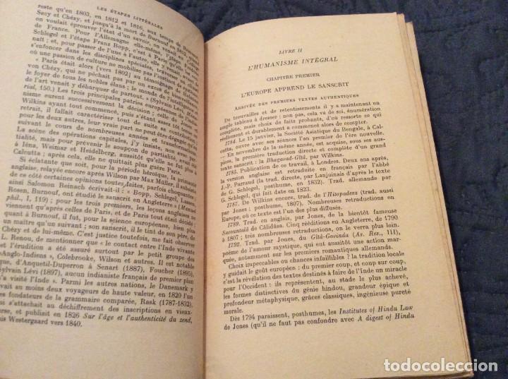 Libros antiguos: El Renacimiento oriental por Raymond Schwab Publicado por Payot, 1950. 1.ª Edición. Muy escaso - Foto 4 - 154820998