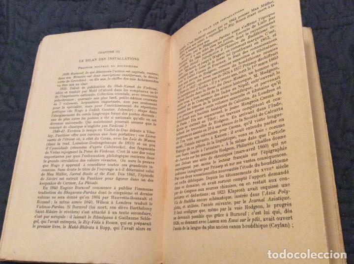 Libros antiguos: El Renacimiento oriental por Raymond Schwab Publicado por Payot, 1950. 1.ª Edición. Muy escaso - Foto 5 - 154820998