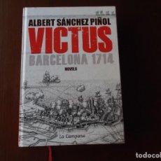Libros antiguos: VICTUS J SANCHEZ PIÑOL PRIMERA EDICION SOLO LEIDO UNA VEZ . Lote 154879274