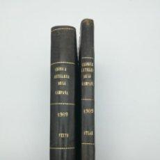 Libros antiguos: CRÒNICA DE ARTILLERÍA CAMPAÑA DE MELILLA TEXTO Y LÁMINAS 1909 1910. Lote 155345638