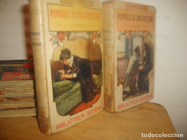 MEMORIAS DE UNA CORTESANA I Y II DE EDUARDO ZAMACOIS. BIBLIOTECA SOPENA 1903. 539 PGNS. PORTE GRATIS (Libros antiguos (hasta 1936), raros y curiosos - Historia Moderna)