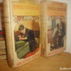 Libros antiguos: MEMORIAS DE UNA CORTESANA I Y II DE EDUARDO ZAMACOIS. BIBLIOTECA SOPENA 1903. 539 PGNS. PORTE GRATIS. Lote 155546266