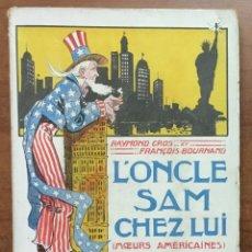 Libros antiguos: L'ONCLE SAM CHEZ LUI (MOEURS AMERICAINES) ILLUSTRATIONS ET DOCUMENTS PHOTOGRAPHIQUES. . Lote 155817666