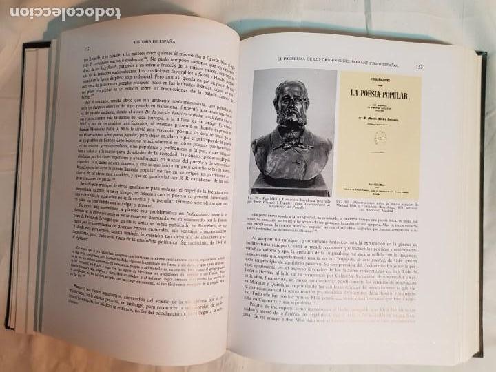 Libros antiguos: HISTORIA DE ESPAÑA DE RAMÓN MENÉNDEZ PIDAL, TOMO XXXV (I,II) LA EPOCA DEL ROMATICISMO ESPASA-CALPE - Foto 6 - 160476678
