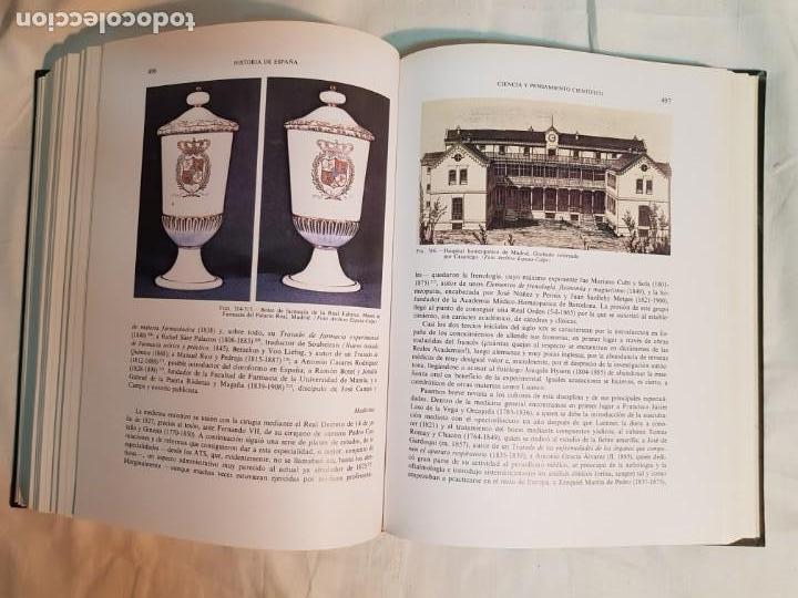 Libros antiguos: HISTORIA DE ESPAÑA DE RAMÓN MENÉNDEZ PIDAL, TOMO XXXV (I,II) LA EPOCA DEL ROMATICISMO ESPASA-CALPE - Foto 11 - 160476678