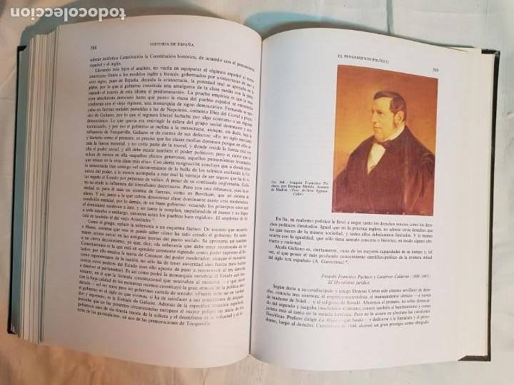 Libros antiguos: HISTORIA DE ESPAÑA DE RAMÓN MENÉNDEZ PIDAL, TOMO XXXV (I,II) LA EPOCA DEL ROMATICISMO ESPASA-CALPE - Foto 13 - 160476678
