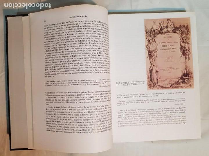 Libros antiguos: HISTORIA DE ESPAÑA DE RAMÓN MENÉNDEZ PIDAL, TOMO XXXV (I,II) LA EPOCA DEL ROMATICISMO ESPASA-CALPE - Foto 15 - 160476678