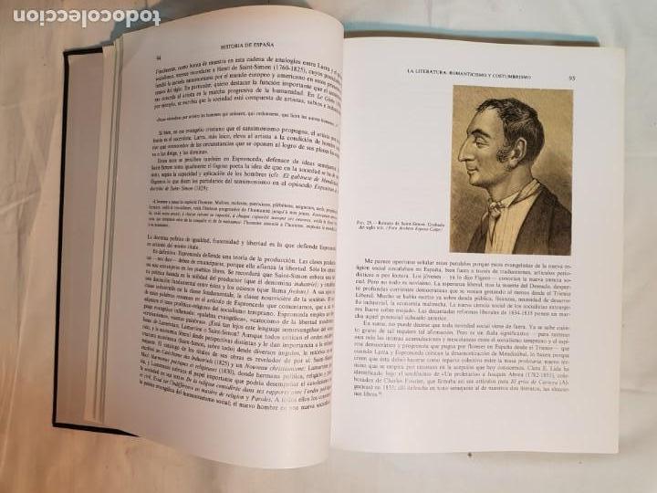 Libros antiguos: HISTORIA DE ESPAÑA DE RAMÓN MENÉNDEZ PIDAL, TOMO XXXV (I,II) LA EPOCA DEL ROMATICISMO ESPASA-CALPE - Foto 16 - 160476678