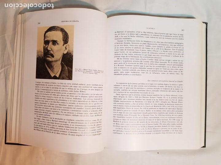 Libros antiguos: HISTORIA DE ESPAÑA DE RAMÓN MENÉNDEZ PIDAL, TOMO XXXV (I,II) LA EPOCA DEL ROMATICISMO ESPASA-CALPE - Foto 19 - 160476678